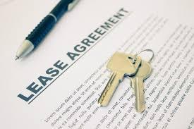 сключване на лизингов договор и първоначални плащания