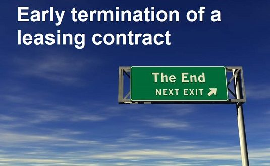 Early exit from a leasing contract